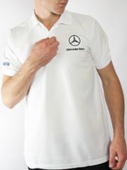 Mercedes Benz Polo Shirt | Mens Wear Outlet | Clothing Depot