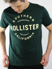 Hollister Green Graphic T-Shirt
