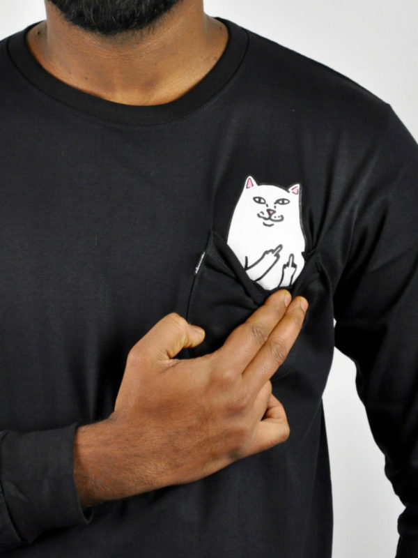 Rip N Dip Shirt Long Sleeve Cat