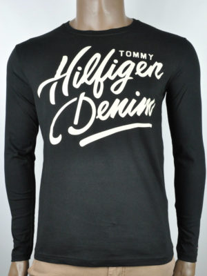 Tommy Hilfiger Jeans Long Sleeve T-Shirt - Black