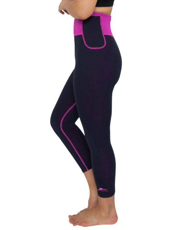 Shop Activewear | Yoga Pants | Delfin Spa High Waisted Capris