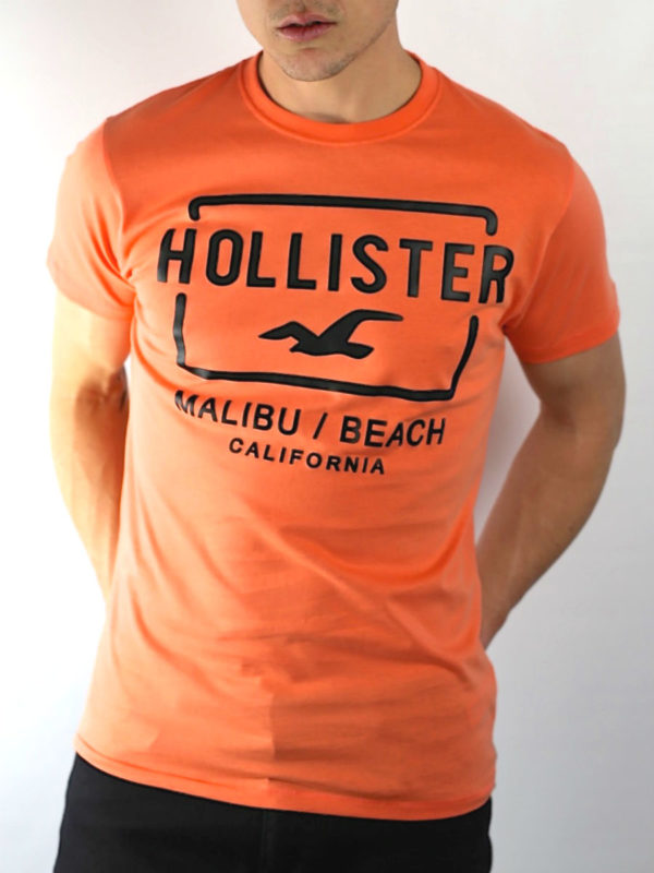 Hollister Malibu Beach Graphic T-Shirt