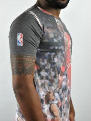 Michael Jordan Chicago Bulls Slam Dunk 3D T-Shirt