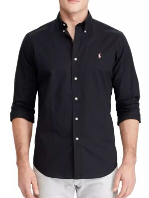POLO RALPH LAUREN OXFORD BUTTON DOWN L/S SHIRT