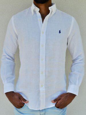 POLO RALPH LAUREN Linen Summer Button Down Shirt
